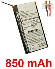 Batterie 850mAh type 6J0601410 HA6568B1AB Pour Samsung YP-Z5QB
