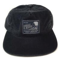 Ocean & Earth Mens Layback Snapback Cap In Black