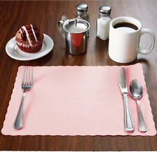 "Raise® Paper Placemats,Scalloped Edge, 10""x14"" place mats,Disposable,Ships Free"
