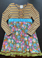 NWOT Matilda Jane 8 Paint By Numbers WHISTLER Dress Jane Exclusive ~Fall BTS~