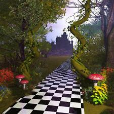 5x7ft Vinyl Fairy Tale Wonderland Castle Photography Studio Backdrop Background