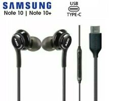 Samsung Galaxy Note 10 / S20 Type C Akg Earphones with Mic Headphones