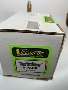 Circuitron #800-6006 Tortoise / Switch Machines (6) All Scales (NEW) Sealed