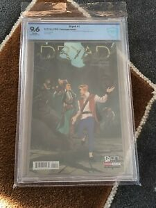 DRYAD #1 9.6  🔥 POP1 🔥FIONA STAPLES VARIANT COVER Oni Press Wiebe First Print