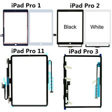 """For iPad Pro 9.7"""" 10.5"""" 11"""" 12.9"""" 1st 2nd 3rd Touch Screen Digitizer Glass Lot"""
