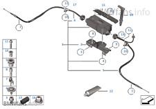 BMW 5 Series GT F07 Park Brake Module EPB hand brake Actuator REPAIR SERVICE