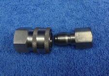 PRESSURE WASHER PAIR STAINLESS STEEL MIDI 14.8MM QUICK RELEASE COUPLING X 3/8BSP