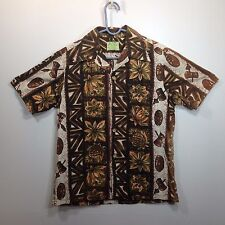 Genuine Hawaiian Aloha Shirt - Ui-Maikai - M - Masks & drums True Vintage Browns