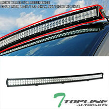 "Topline For Chevy T3C 54"" 312W CREE Curved LED Light Bar Spot Flood Fog Lamp"