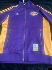 Lakers Adidas Anniversary Edition Jacket Small