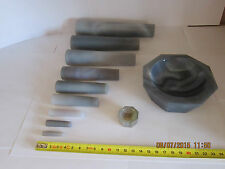 50 mm, Achatpistill, Pistill, Pestle, Pilon, Agate, Agata, Pestelle