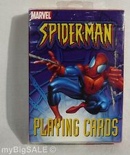 Bicycle Playing Cards MARVEL SPIDER-MAN Blue Red Spiderman Crazy 8's War Go Fish
