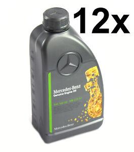 12x 1Liter Mercedes-Benz Huile Moteur 5W-30 MB 229.51 A0009896906 11 Alee