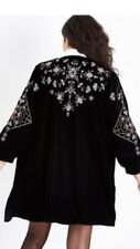 NEW LOOK Taille 8-10 en velours brodé Kimono Veste London Fashion A/W 2017