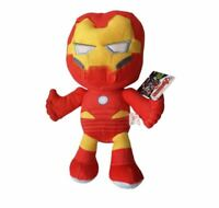 """OFFICIAL MARVEL COMICS IRON MAN LARGE 12"""" PLUSH SOFT TOY TEDDY NEW STYLE BNWT"""