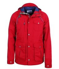 Penfield Trailwear Water Resistant Parka Coat Jacket - Red - Mens - Medium M