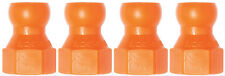 "(4) 1/4"" SAE Flare Nut Adapters 1/4""Loc-Line® USA Original Modular System #41414"