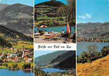 Gruesse aus Feld am See, Kaernten Terrace Lake General view Panorama