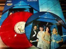 ABBA VOULEZ-VOUS Picture Disc+Red vinyl 1979 2 albums 33t.Vogue France