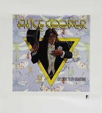 Alice Cooper 1993 Welcome To My Nightmare Print Plate Signed Lithograph