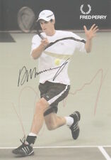 ANDY MURRAY Signed 6x4 Post Card WORLD TENNIS Champion WIMBLEDON COA