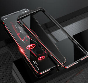 For ZTE Nubia Red Magic 3 / 3S Luxury Metal Aluminum Bumper Frame Back Cover