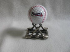 Atlanta Braves Golf Ball and Golf Tees Stand Set