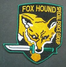 Metal Gear Solid Fox Hound Special Forces Embrodiered Patch -new