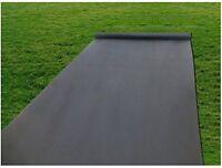Agfabric 2.3ounce Weed Barrier Fabric Block Garden/Landscape Fabric 3ft x100ft
