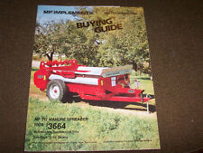 1986 Winter Spring Massey-Ferguson Buying Guide 240 250 1040 1030 1020 Tractor