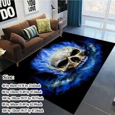 Modern 3D Skull Large Area Rugs Home Decor Non-skid Floor Mats Area Carpet