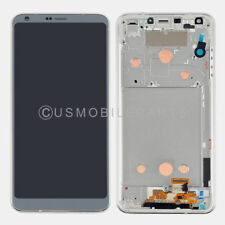 Silver Display LCD Screen Touch Screen Digitizer + Frame Replacement For LG G6