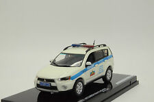 RARE !! Mitsubishi New Outlander Russian Police White Custom Made 1/43