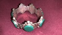 Beautiful sterling silver bracelet vintage mexico