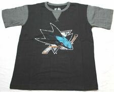 Profile Big & Tall NHL San Jose Sharks Short Sleeve Raglan PCD Tee Medium Blac