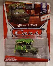 Disney Pixar Cars Deluxe Wild Miles Axelrod Mel Dorado Series Die Cast NEW 2013