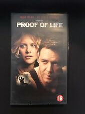 Proof Of Life VHS Tape English with dutch subs