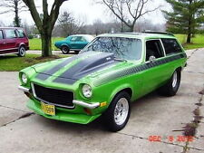 1971-1977 Chevrolet Vega 4'' Cowl Induction Hood Fiberglass Pin on (H-1504)