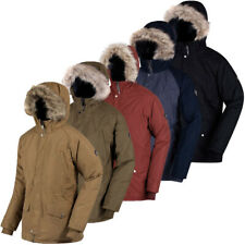 Regatta Mens Salton Insulated Waterproof Parka Jacket 72% OFF RRP