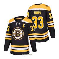 JERSEY ZDENO CHARA BOSTON BRUINS #33 MEN'S PLAYER GAME ICE HOCKEY