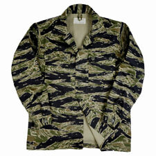 Vietnam War US Tiger Tabby Camouflage TCU Top Cotton XL-0882