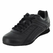 e021918b629 Fila Memory Elleray 5 Slip Resistant Sneaker Womens Work and Uniform Shoes  Black 7.5 M