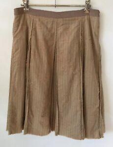 Scanlan Theodore Box Pleated Skirt Size 8