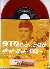 "RED WAX 7"" JAPAN Ronny & The Daytonas GTO on Stateside SR-1149"