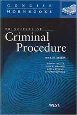 Principles of Criminal Procedure (Concise Hornbook Series), Leslie Abramson, Joh