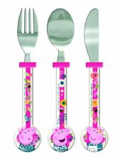 Spearmark Peppa Pig  New Pattern BACK TO NATURE Round Cutlery age 3 - 4