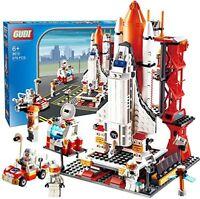Space Shuttle Launch Pad Building Brick Set - 678pcs - LEGO COMPATIBLE