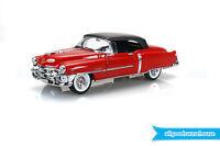 1953 Cadillac Eldorado Red 1:24 scale Classic premium die-cast hobby model car