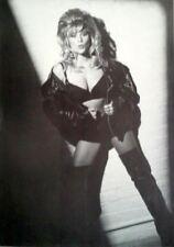 """SAMANTHA FOX """"BRA & THIGH-HIGH BOOTS"""" 80's POSTER - U.K. Pop Star & Pin-Up Girl!"""