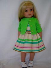 PUPPENKLEIDUNG für Götz Stehpuppe Hannah 50 cm Kleidung Kleid/Jacke (OHNE PUPPE)